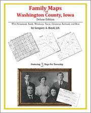 Family Maps Washington County Iowa Genealogy IA Plat
