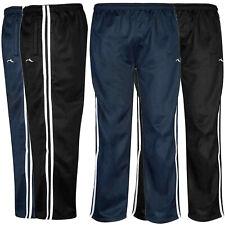 Ragazzi Tuta Bottoms Pantaloni Sportivi Jogging di seta a righe Sport Sudore Pantaloni Pantaloni