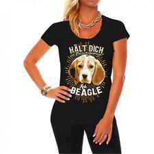 Frauen Girls T-Shirt Beagle Hunde dog breed Haustier Familie Spruch Fun Jagdhund