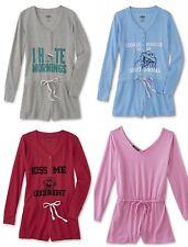 Romper Pajamas Womens Size Small,Medium,Large One Piece Jumper Sesame Street NEW