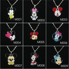 Minnie Mouse charm pendant necklace