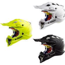 LS2 MX470 SUBVERTER ATV Quad Motocross Helmet MX Dual Sport Off Road Plain Crash