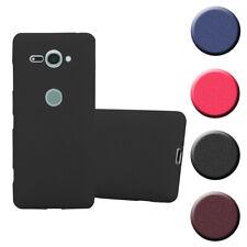 Schutz Hülle für Sony Xperia XZ2 Compact Handy Cover Case TPU Matt Bumper