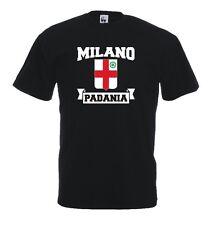 T-Shirt Supporters J505 Milano Padania Lombardia Flag Lega Nord Stemma