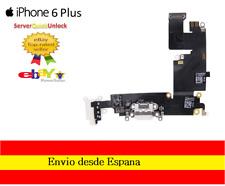 CONECTOR CARGA IPHONE 6 PLUS COLOR GRIS O BLANCO JACK AURICULAR MICROFONO