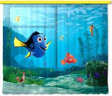 """""""Findet Nemo & Dorie"""" Kinder Foto Vorhang Gardine 180x160cm"""