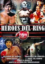 Heroes Del Ring-6 Peliculas new sealed DVD