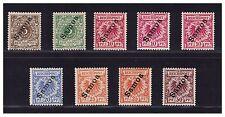 Samoa  Einzelwerte aus Satz Mi. 1 - 6  ungebraucht * (mh) incl. Farbvarianten