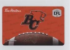2016 Tim Hortons CFL Team Logos Card #BCL BC Lions (Vancouver Lions) (CFL)