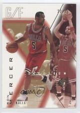 2001-02 SPx Spectrum #10 Ron Mercer Chicago Bulls Basketball Card