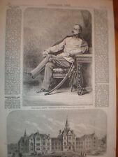 Austria Field Marshall Louis Benedek 1866 print