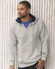 Champion - Cotton Max Hooded Quarter-Zip Sweatshirt - S185