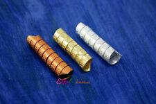 Dread coil beads/Dread bead sets/Viking Beard Coils/Copper bead