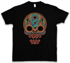 INCA SKULL T-SHIRT Inka Mayans Maya Aztecs Azteken American Indians Sugar Flash