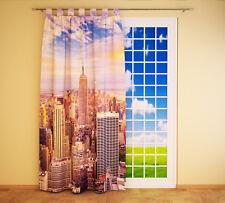 """Foto Schlaufenschal Vorhang Gardine """"New York Skyline"""""""