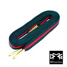 Premium Flat Stripe Laces for SB Air foamposite Max Red Green Jordan 1 Yeezy SK8