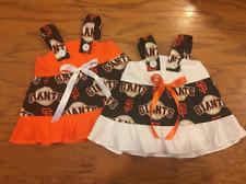 MLB San Francisco Giants Baby Infant Toddler Girls Dress *YOU PICK SIZE*