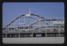 Photo Hunt's Pier roller coaster Wildwood New Jersey 1978 Margolies 91a