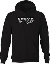 Sweatshirt -Chevy Racing Checkered Flag Mens