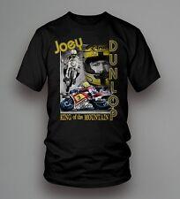 Nuevo Official Joey Dunlop King of the Montaña camiseta