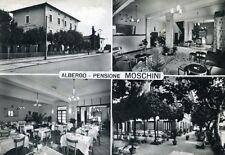 """"""" MONTECATINI TERME : ALBERGO MOSCHINI """"   Viaggiata Anno 1963"""