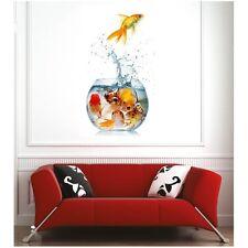 Affiche poster poissons aquarium  64404820 Art déco Stickers