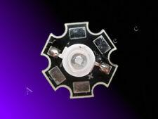 3W High Power LED auf Starplatine 430nm - 435nm hyper violet - 750mA - Aquarium