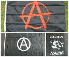 German Anti-Nazi/Fascist Flag Anarchist Socialist Communist Democrat Antifa Punk