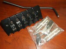 NEW Hipshot 5-String Bass Tremolo Bridge - BLACK, CHOOSE YOUR SPACING!