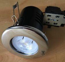 PACK OF 2-LED GU10 Fire Rated Downlight-White or Chrome - KSR Lighting+Philips