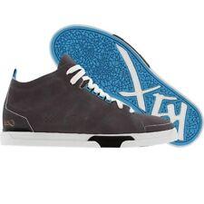 $100 K1X KIX Shoes 80s LE grey white cyan 0063-Premium Skate Fashion Sneakers