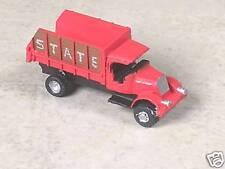 N Scale 1929 Bull Dog Nose Red Mack Coal Truck