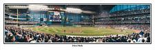 Milwaukee Brewers First Pitch at Miller Park April 6, 2001 Panoramic Poster 2081