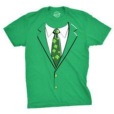 8209dc3bd Green Irish Tuxedo T Shirt Funny Festive St Patricks Day Beer Drinking Tee