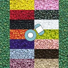 Miyuki 11/0 Glass Seed Beads Japanese Round Rocailles Opaque 24 grams U-Pick