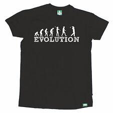 Evolution Golfer T-SHIRT tee golf golfing humour funny birthday gift present