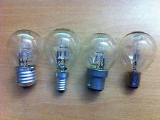 18w 28w 42w Halogen Saver Clear Golf Light Bulb BC ES SES SBC x 4