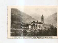 1918 CHIESA DI SAN MARTINO PIAZZA BREMBANA E LENNA VEDI