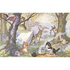 Kittens Camp - Molly Brett Print