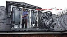 UK Building regulations Terrace Railing , Balcony ( No. 11  )  HIGH QUALITY.