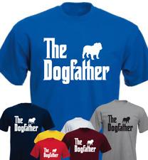 The Dogfather English Bulldog Dog Birthday Gift Present New T-shirt