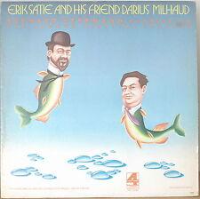 ERIK SATIE AND HIS FRIEND DARIUS MILHAUD-M1973LP BERNARD HERMANN