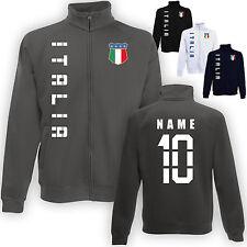 Italien Italia Jacke Sweatjacke Trikot mit Name & Nummer S M L XL XXL