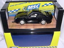 MSC 6023 SLOT CAR PORSCHE 959 STREET CAR   BLACK  MONTECARLO CHASIS   MB