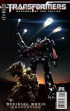 Transformers: Revenge of the Fallen Comic Movie Set