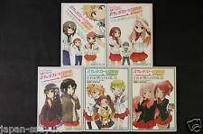 JAPAN namo manga Baka and Test/Baka to Test to Shoukanjuu Spinout! 1~5 set