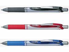 Pentel BL77 EnerGel Deluxe Rollerball Pen 0.7mm R/T Black Red Blue or Refill^