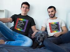 Mens GAY T-Shirt Little EQUALITY Never Hurt Anyone LGBT Pride Summer Fashion