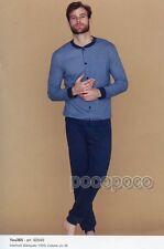 PIGIAMA APERTO MANICA LUNGA COTONE CALDO YOU 365 ART. 92649/92650