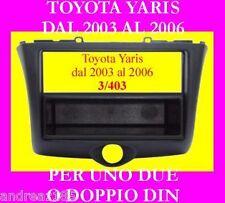 Supporto adattatore per sostituzione radio su YARIS dal 2003 al 2006 Nuovo